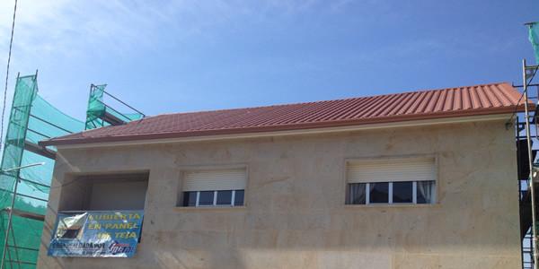Sustituir tejado por panel teja