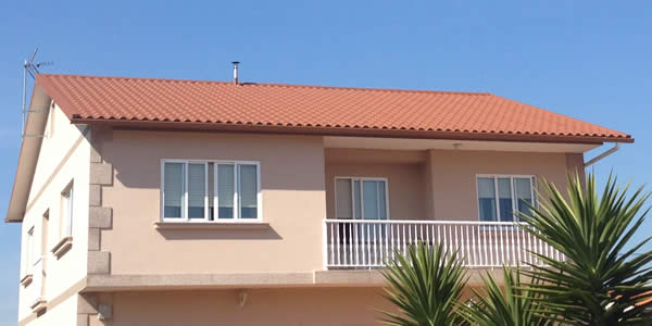 Renovación de tejado en vivienda unifamiliar