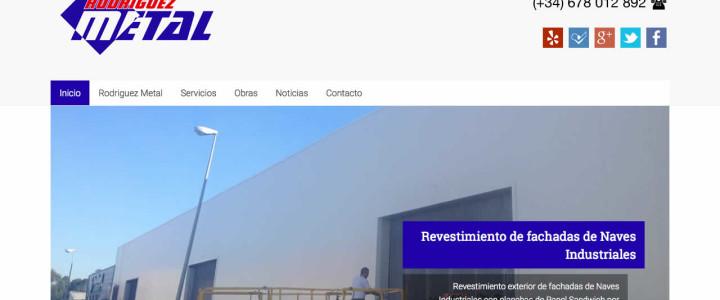 Estrenamos nueva web RodriguezMetal.com