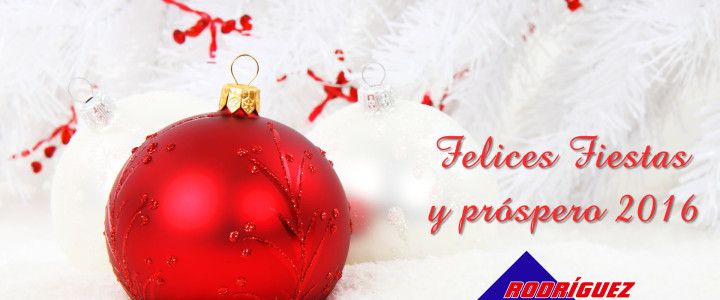 Felices Fiestas y próspero año 2016