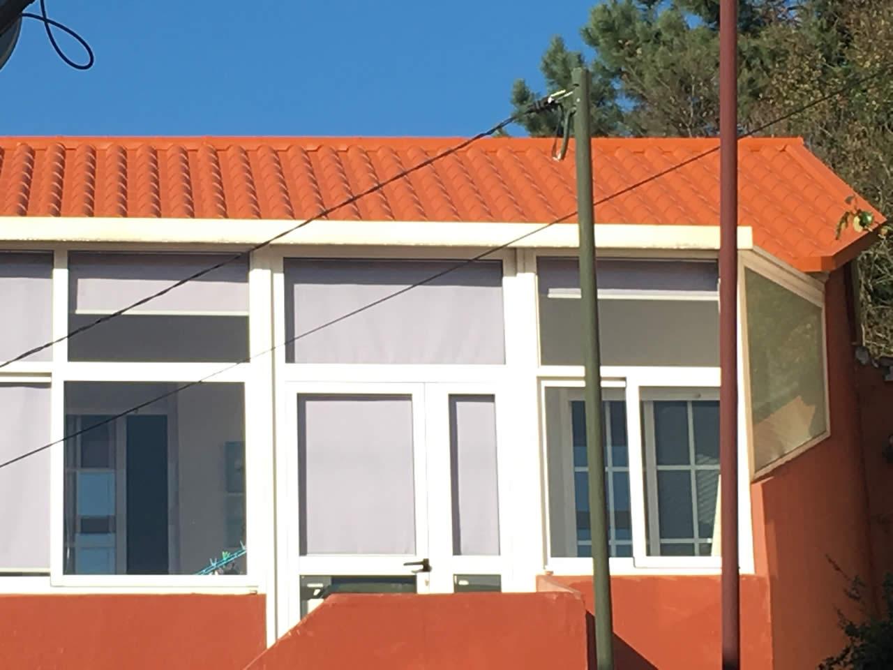 Reforma tejado panel teja chapela