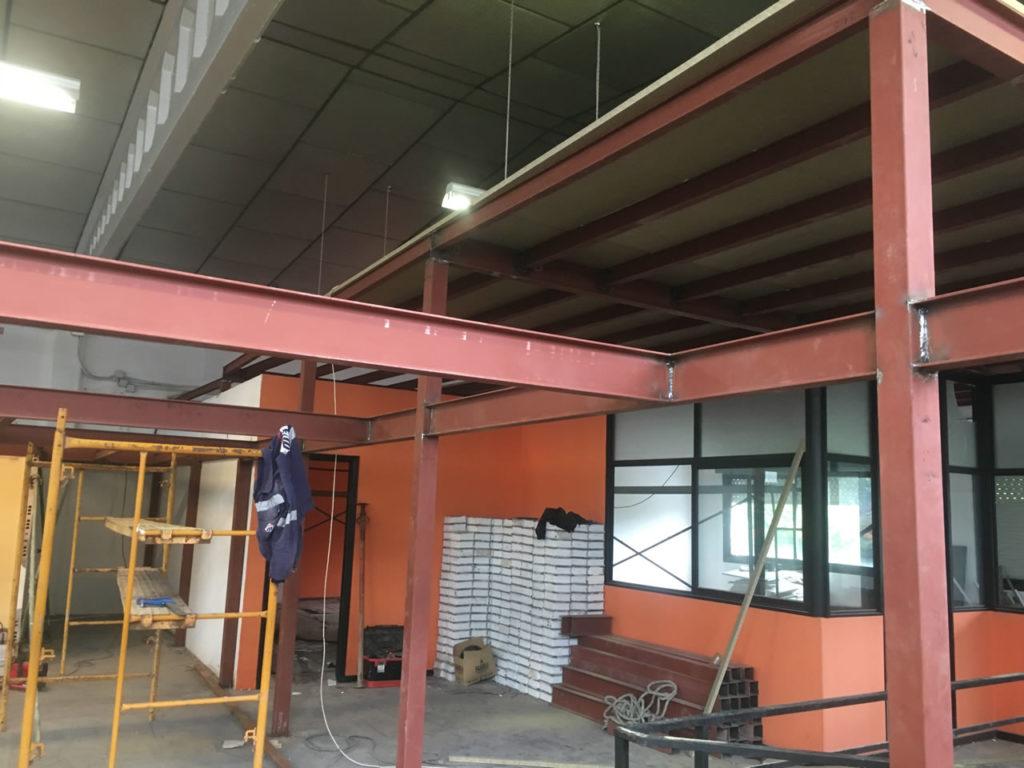 Construcci N De Entreplanta En Nave Industrial En Vigo