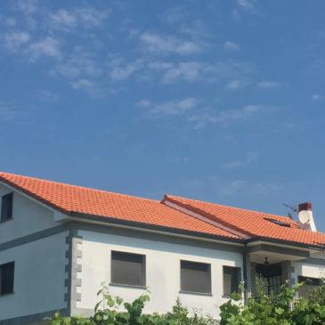 Construcción de Cubierta a 2 Aguas en Pontevedra