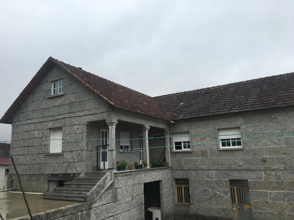 Construcci n de tejado a 2 aguas en verducido pontevedra - Empresas de construccion en pontevedra ...