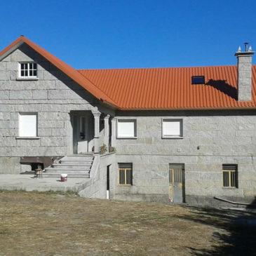Construcción de tejado a dos aguas en Verducido – Pontevedra