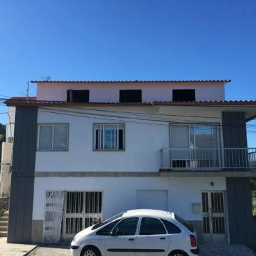 Construcción de tejado a 2 aguas en Pontevedra