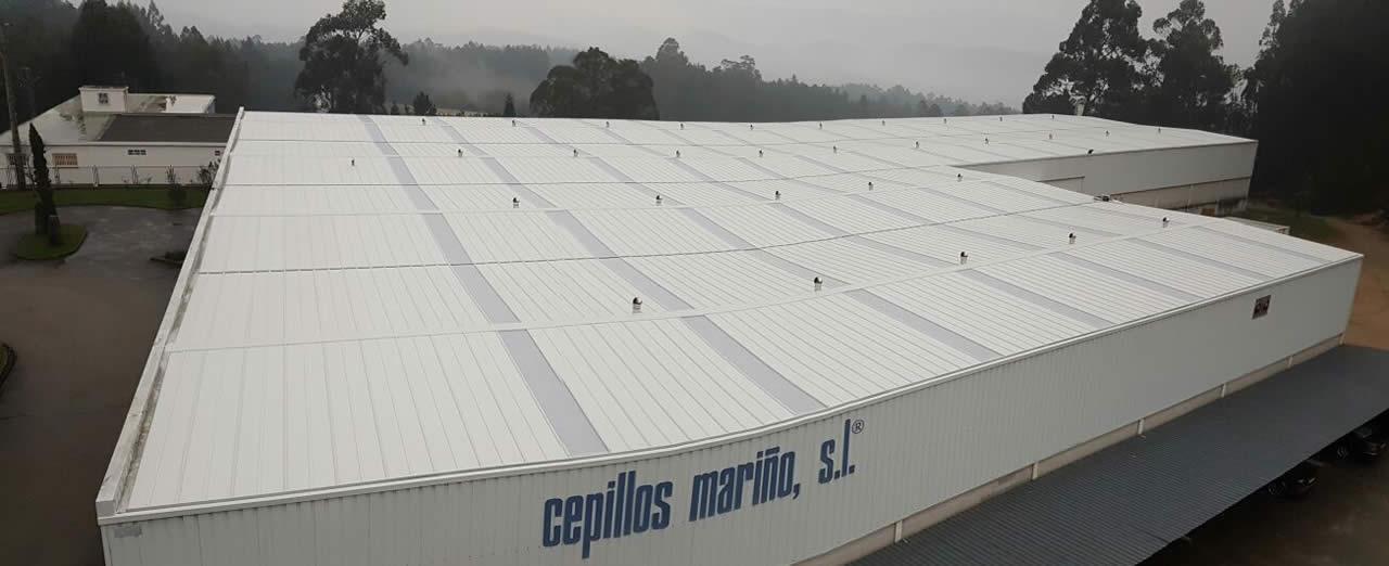 Panelado de Nave Industrial en Vilagarcía