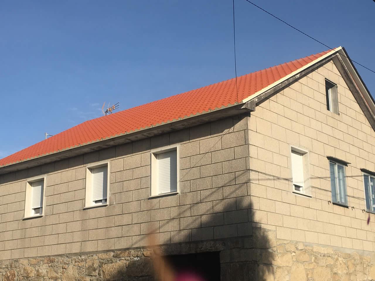 Construcción de tejados en Barrantes, Pontevedra - Instalaciones Rodríguez Metal