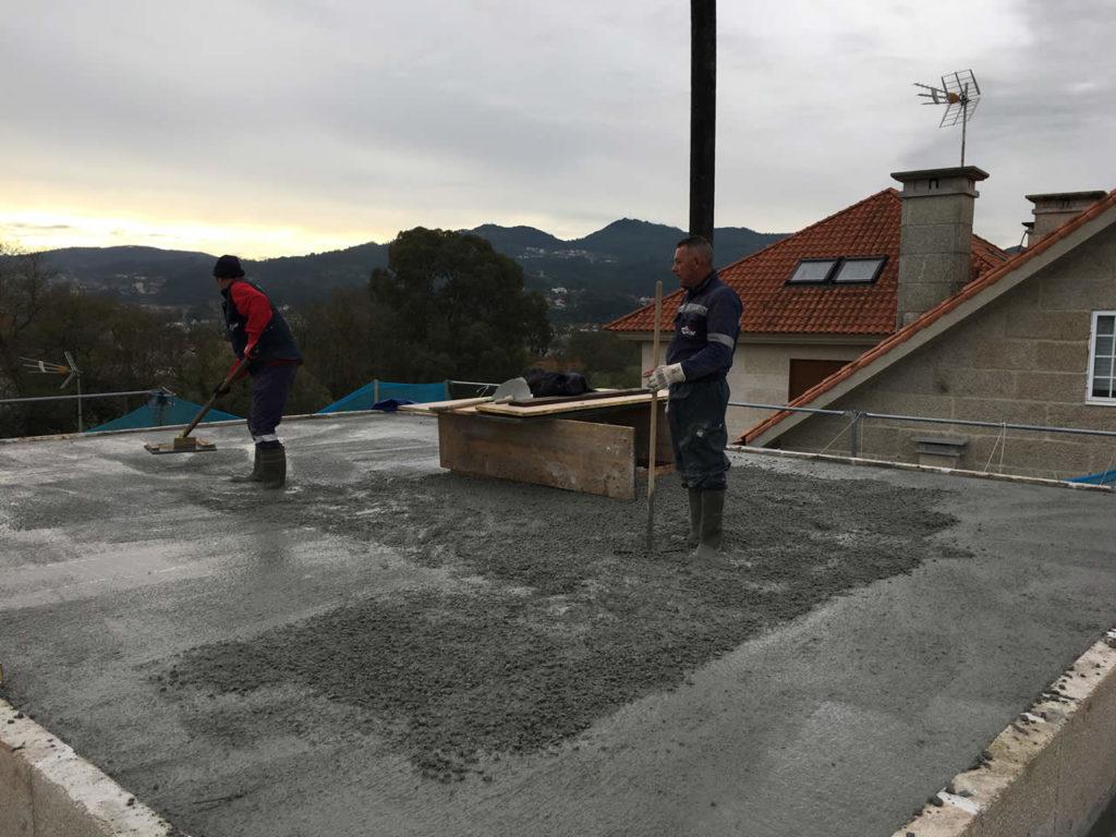 Construcci n de tejado en vigo instalaciones rodr guez metal - Empresas de construccion en vigo ...