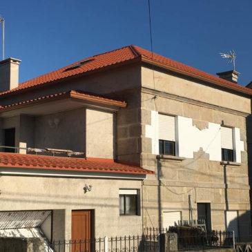 Construcción de tejado en Vigo