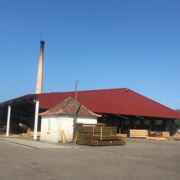 Construcción de nave industrial en Ponteareas