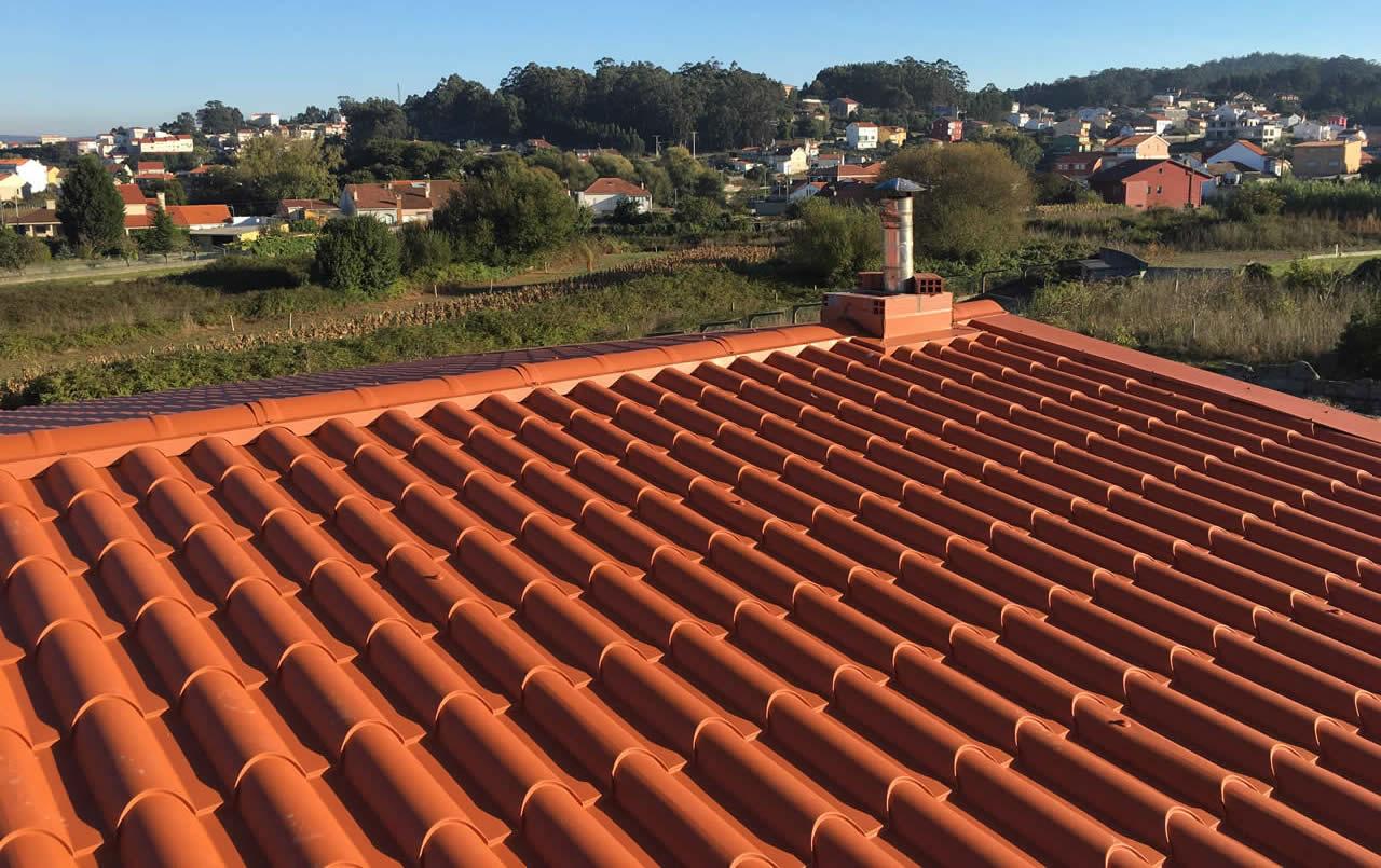 Construcción de Tejado a 2 Aguas en O Grove, Pontevedra - Construcciones Rodríguez Metal