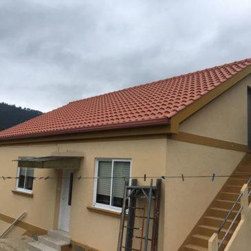 Construcción de tejado en Cangas