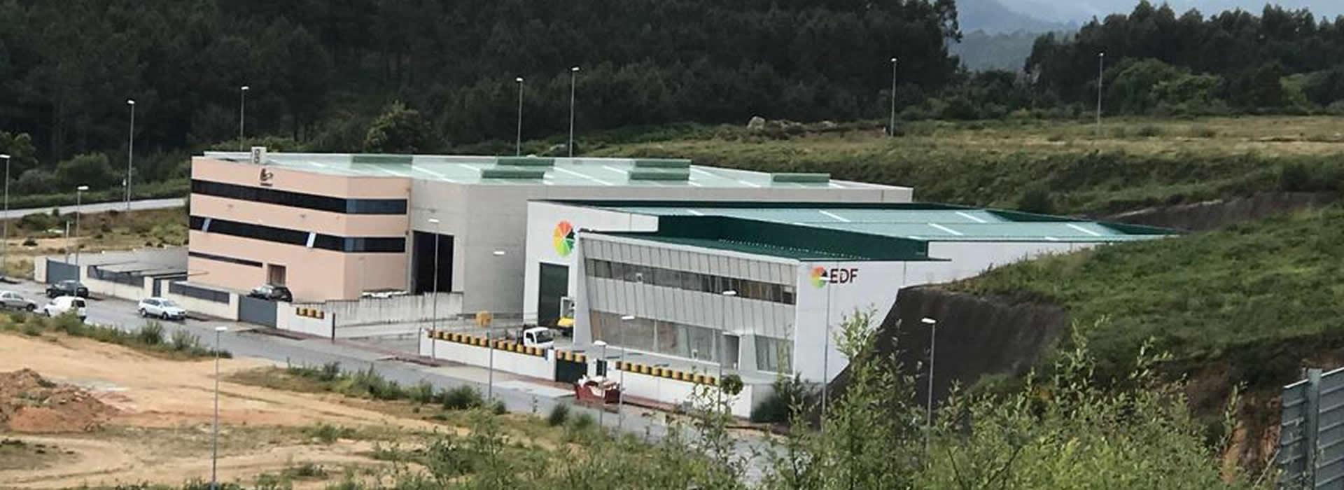 Construcción de nave industrial en Barro, Pontevedra