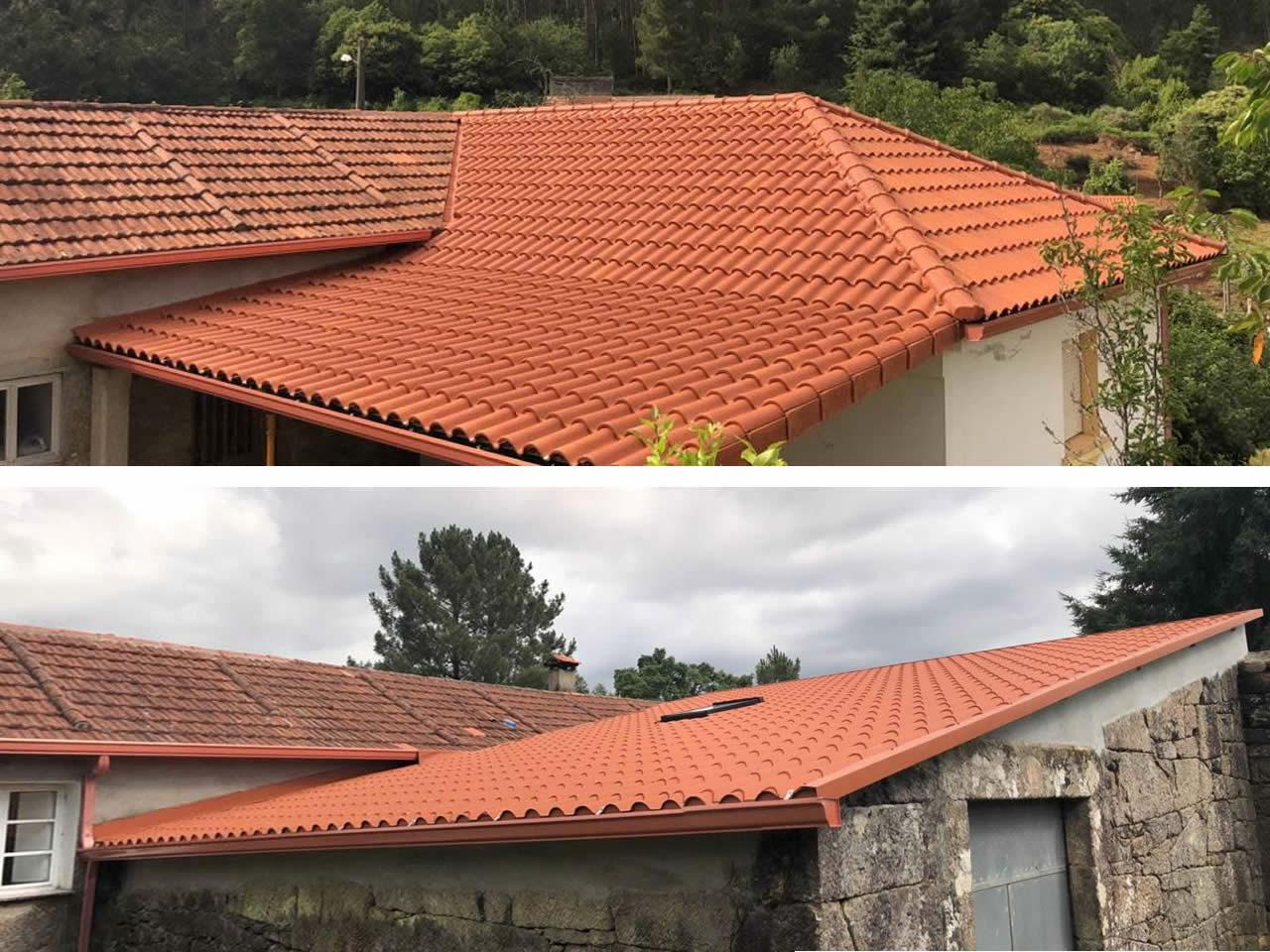 Construcción de 2 cubiertas en Canicouba - Rodríguez Metal